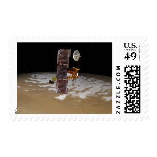 Mars Odyssey spacecraft Postage
