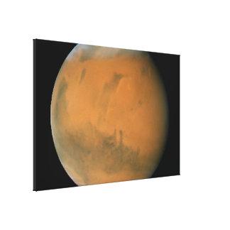 Mars on Dec 7 2007 Gallery Wrap Canvas