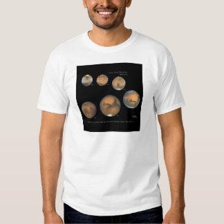 Mars Opposition 1995-2005 Sqr T-shirts