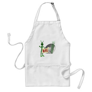 Mars or Bust! Adult Apron