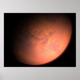 Mars Orbit Print