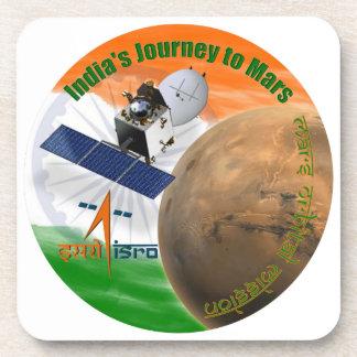Mars Orbiter Mission: ISRO Beverage Coasters