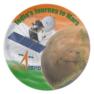 Mars Orbiter Mission: ISRO Dinner Plate