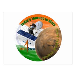 Mars Orbiter Mission: ISRO Postcard