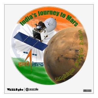 Mars Orbiter Mission: ISRO Wall Decor