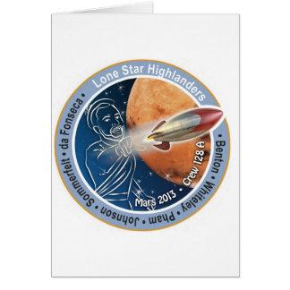 Mars Patch Crew 128A Card