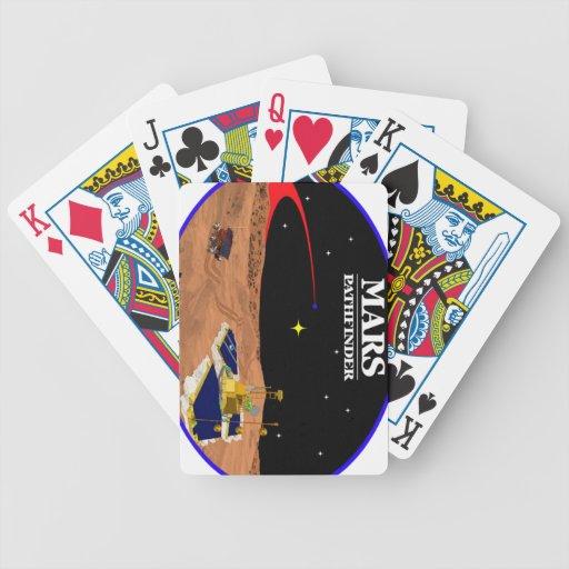 MARS PATHFINDER BICYCLE PLAYING CARDS