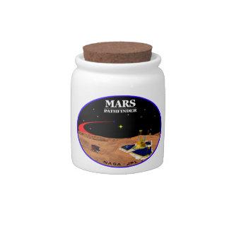 MARS PATHFINDER CANDY JAR
