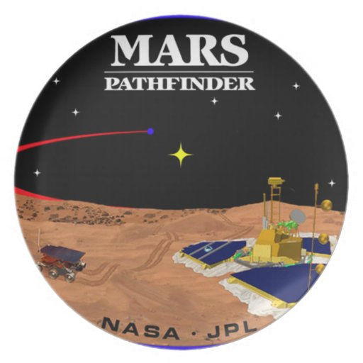 MARS PATHFINDER PARTY PLATE