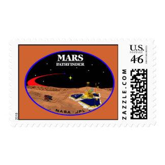 MARS Pathfinder Postage Stamp