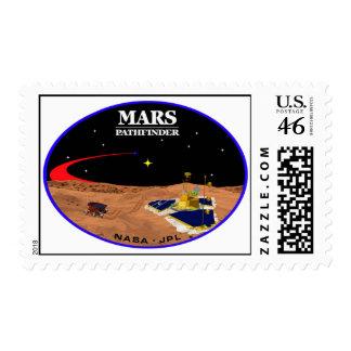 MARS Pathfinder Postage Stamps