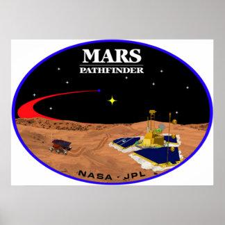 MARS PATHFINDER PRINT