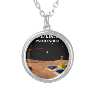 MARS PATHFINDER SILVER PLATED NECKLACE