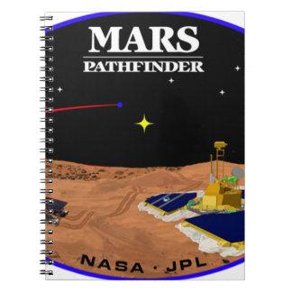 MARS PATHFINDER SPIRAL NOTEBOOK