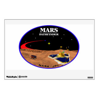 MARS PATHFINDER WALL STICKER