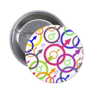 Mars Pinback Button