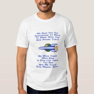 Mars Poem T Shirt