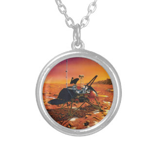 Mars Polar Lander Personalized Necklace