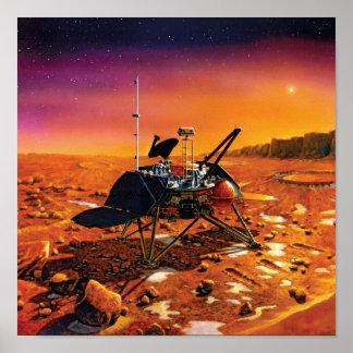 Mars Polar Lander Poster