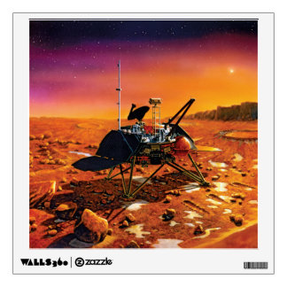 Mars Polar Lander Wall Decal