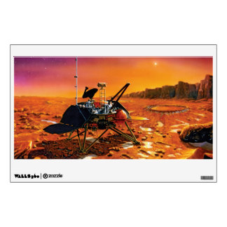 Mars Polar Lander Wall Sticker