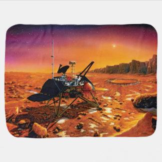 Mars Polar Lander Stroller Blanket