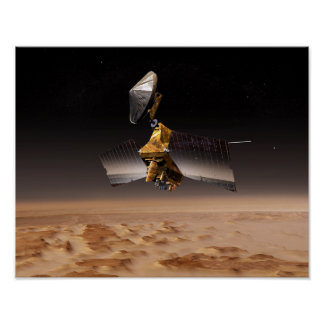 Mars Reconnaissance Orbiter 2 Poster