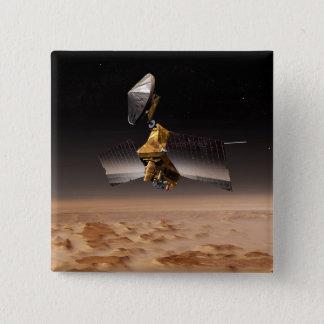 Mars Reconnaissance Orbiter 4 Pinback Button