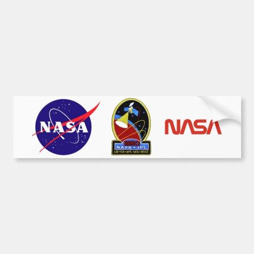 Mars Reconnaissance Orbiter (MRO) Etiqueta De Parachoque