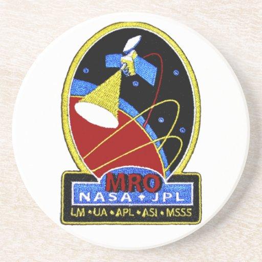 Mars Reconnaissance Orbiter (MRO) Drink Coasters