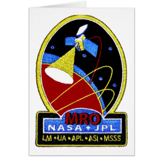 Mars Reconnaissance Orbiter (MRO) Greeting Card
