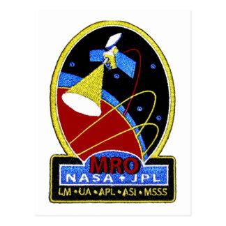 Mars Reconnaissance Orbiter (MRO) Postcard