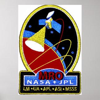 Mars Reconnaissance Orbiter (MRO) Posters