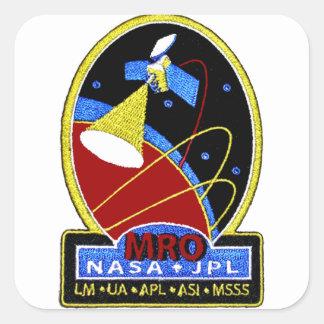 Mars Reconnaissance Orbiter (MRO) Square Sticker