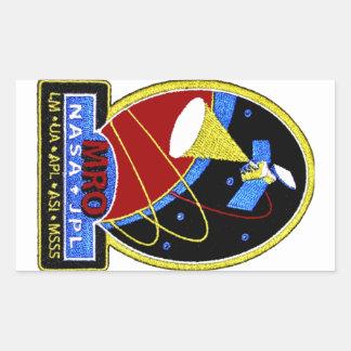 Mars Reconnaissance Orbiter (MRO) Rectangular Sticker