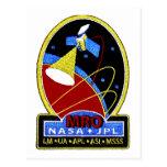 Mars Reconnaissance Orbiter (MRO) Tarjeta Postal