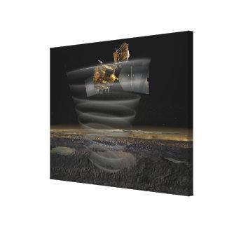Mars Reconnaissance Orbiter's Radar at Work Canvas Print
