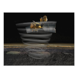 Mars Reconnaissance Orbiter's Radar at Work Photo Print