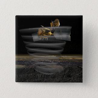 Mars Reconnaissance Orbiter's Radar at Work Pinback Button
