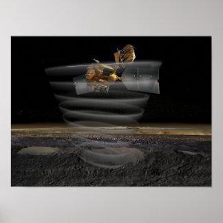 Mars Reconnaissance Orbiter's Radar at Work Poster