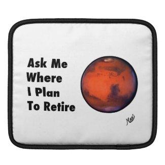 "Mars ""Retirement"" iPad Case"