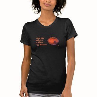 Mars Retirement Ladies Fine Jersey T-Shirt