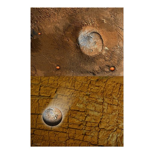 Mars Revisted by Gregory Gallo Poster