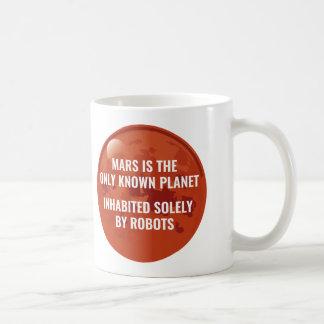 Mars Robot Coffee Mug