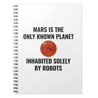 Mars Robot Note Book