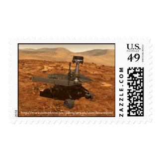 Mars Rover 2 Stamp