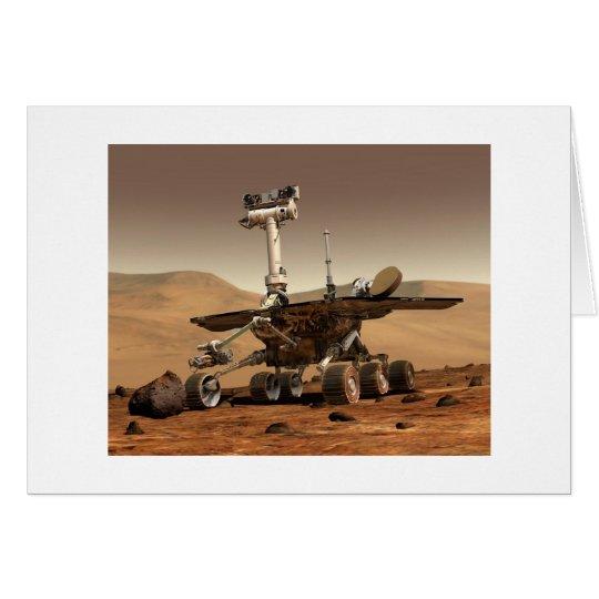 Mars Rover Card