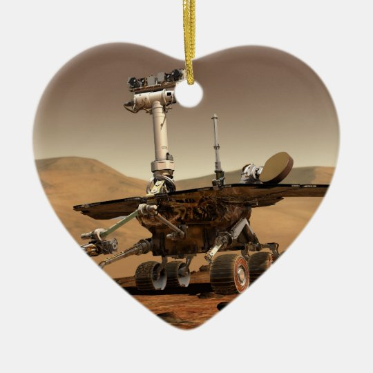 Mars Rover Ceramic Ornament