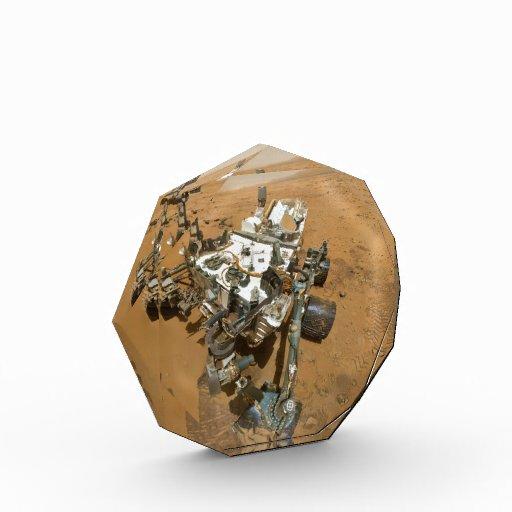 Mars Rover Curiosity at Rocknest Award