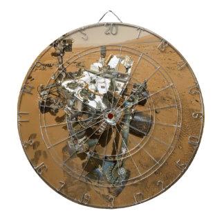 Mars Rover Curiosity at Rocknest Dart Board